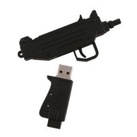 USBGeek — Machine Gun USB Drive