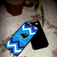 Carolina Panthers Chevron NFL on samsung galaxy s3/s4 case, iPhone 4/4 case, iPhone 5/5s/5c case NBACASES