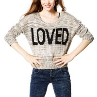 Loved Intarsia Sweater - Multi