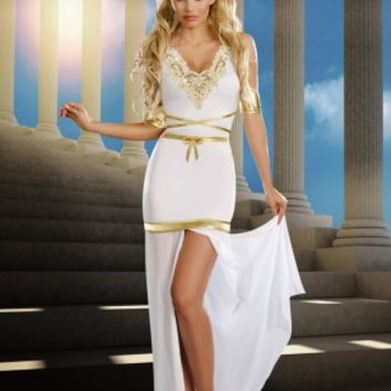 4 PC. Goddess of Love Aphrodite @ Amiclubwear costume Online Store,sexy costume,women's costume,christmas costumes,adult christmas costumes,santa claus costumes,fancy dress costumes,halloween costumes,halloween costume ideas,pirate costume,dance costume,