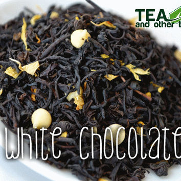 50g White Chocolate - Loose Black Tea