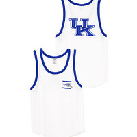 University of Kentucky Bling Boyfriend Pocket Tank - PINK - Victoria's Secret