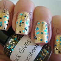 Pocahontas  Full Size 15ml/5oz Glitter Nail by MackGivesBack