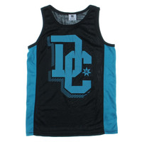 DC Boys Graphic Contrast Trim Tank Top