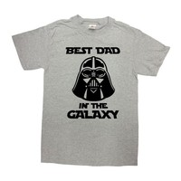 Funny Dad Shirt Fathers Day T Shirt Daddy Shirt Best Dad Ever Father Clothes Movie Fan Shirt Movie T Shirt Best Dad In The Galaxy - SA1098
