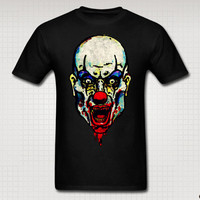 Killer Zombie Clown Skull Tee