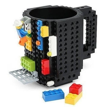 Coffee Cup Mug Build Brick  Mega Blocks Adult Child Fun Toys Mug lb1 [9305869575]