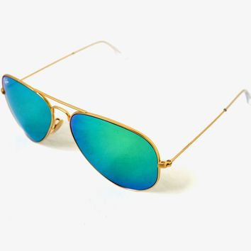 Ray-Ban Aviator Gold, Lenses Green