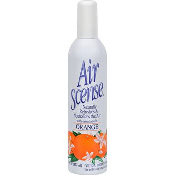 Air Scense Air Freshener - Orange - Case Of 4 - 7 Oz
