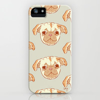 Pug Puppy iPhone & iPod Case by Marie Gardeski