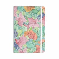 "Catherine Holcombe ""Southwestern Floral "" Green Purple Everything Notebook"