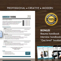 Resume Template / CV Template for MS Word / Professional and Modern Resume Design / Instant Digital Download / Mac or PC 10