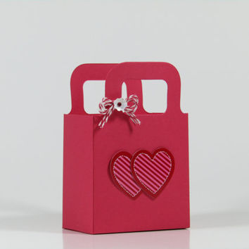 Valentine's Day Treat Bags - Heart Bag