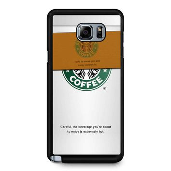 Starbucks Coffee Cup Samsung Galaxy Note 5 Case