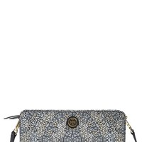 Tory Burch 'Kerrington' Wallet Crossbody - White