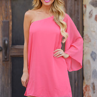 The Lucky One Dress - Pink Berry
