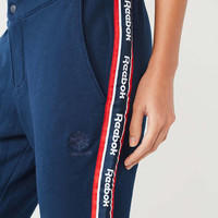 Reebok Snap Button Striped Track Pant | Urban Outfitters