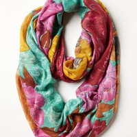 Ignited Wildflower Infinity Scarf
