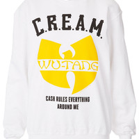 Wu Tang Clan Sweat By And Finally - Clothing Brands - Designers - Topshop