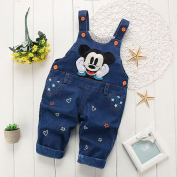 girls/boys overalls denim