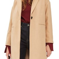 Topshop Millie Relaxed Coat   Nordstrom