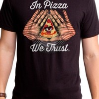 Men's All Seeing Pizza T-Shirt