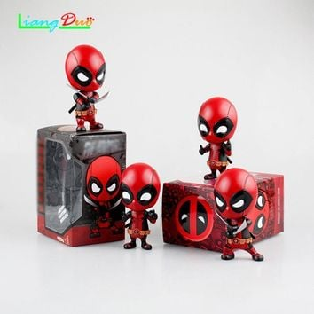 Deadpool Dead pool Taco SuperHero playmobil  2 Anime Action Figure PVC Model plastic Automobile ornament hot toys collectibles for children AT_70_6