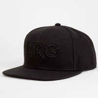 Lrg Branded Mens Snapback Hat Black One Size For Men 25121610001