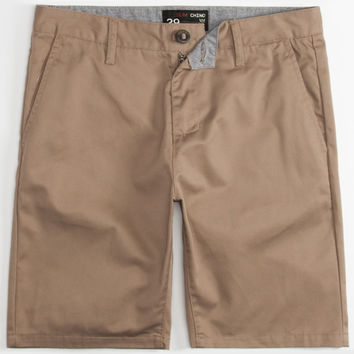 BLUE CROWN Mens Slim Chino Shorts | Chino Shorts