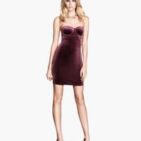 Strapless Dress - from H&M