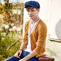 Men's Fashion Sweater With Pocket Simple Design Slim Knit Tops Jacket [7951299395]