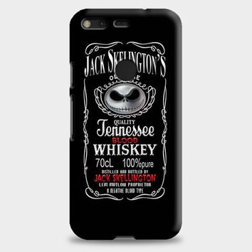 Jack Skellington Whiskey Daniels Google Pixel XL 2 Case | casescraft