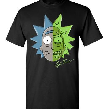 Get Toxic Rick and Morty Unisex T-Shirt