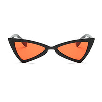 The Bowtie Sunglasses Orange Black