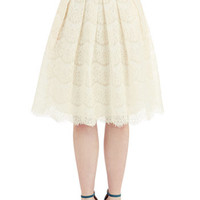 Ryu 50s Long Full Ethereal Essayist Skirt