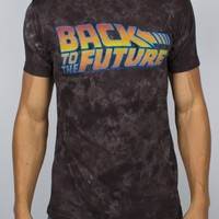 Junk Food Clothing - Back to the Future Marble Dyed Crew
