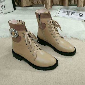 JIMMY CHOO  Women Casual Shoes Boots popularable casual leather Women Heels Sandal Shoes