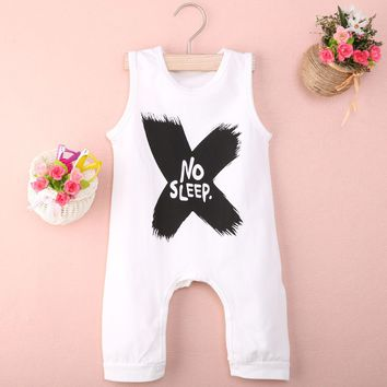 Kids No Sleep Sleeveless Romper
