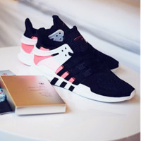 Adidas Equipment EQT Support Black/Pink Women Men Sports Shoes