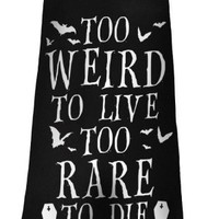 Killstar | Too Weird To Live Vest Dress - Tragic Beautiful buy online from Australia