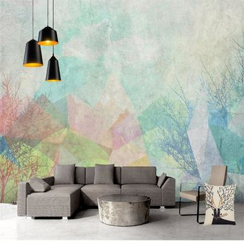 Custom Photo Wallpapers Geometric 3D Wall Murals Wallpapers for Living Room Bedroom Abstract Art Wall Papers Home Decor Painting