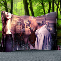 "Romantic THE MORTAL INSTRUMENTS Movies Custom Pillow Case 30"" x 20"""