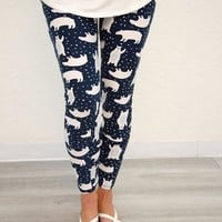 Winter Printed leggings