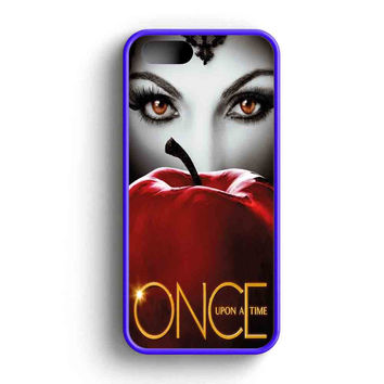 Once Upon A Time Cool Poster Eye  iPhone 5 Case iPhone 5s Case iPhone 5c Case