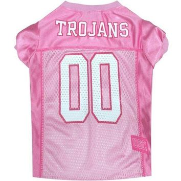 ONETOW Southern Cal Trojans Pink Pet Jersey