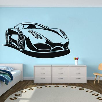 2018 New Arrival Wall Stickers Neymar Wall Decor Vinyl Automobile Sports Car Stickers Boys Room Self Adhesive Bedroom Home X472