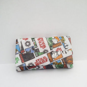 Star Wars Duct Tape Wallet Coin Purse