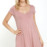 All a Dream Blush Swing Dress