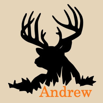 Boys Room~ Hunting Decal~Nursery Room Wall Decal~Deer~Deer Decal