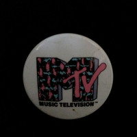 Vintage MTV Button